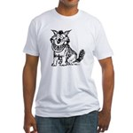 Crazy Dog Fitted T-Shirt