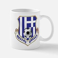 Greek Soccer Shield Mug