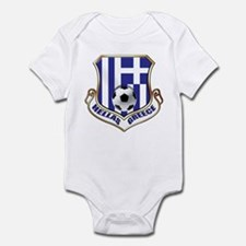 Greek Soccer Shield Infant Bodysuit