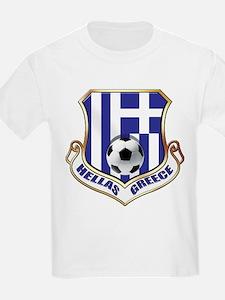 Greek Soccer Shield T-Shirt