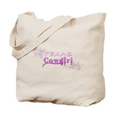 Texas Cowgirl (Pink) Tote Bag