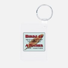Blue Sky Birds Keychains