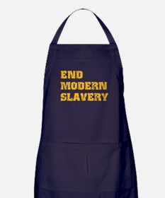 End Modern Slavery Apron (dark)