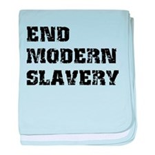 End Modern Slavery baby blanket