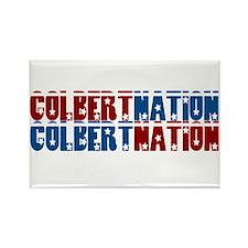 COLBERT NATION Rectangle Magnet