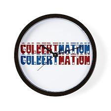 COLBERT NATION Wall Clock