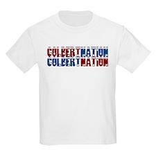 COLBERT NATION Kids T-Shirt