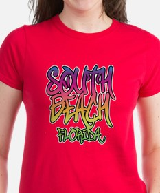 South Beach Graffiti Tee