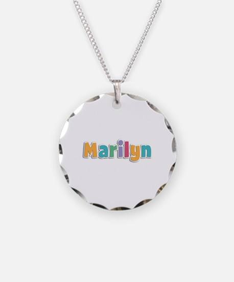 Marilyn Spring11 Necklace Circle Charm