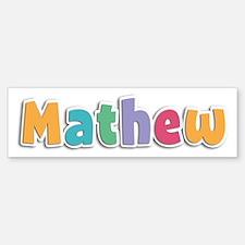 Mathew Spring11 Bumper Bumper Bumper Sticker