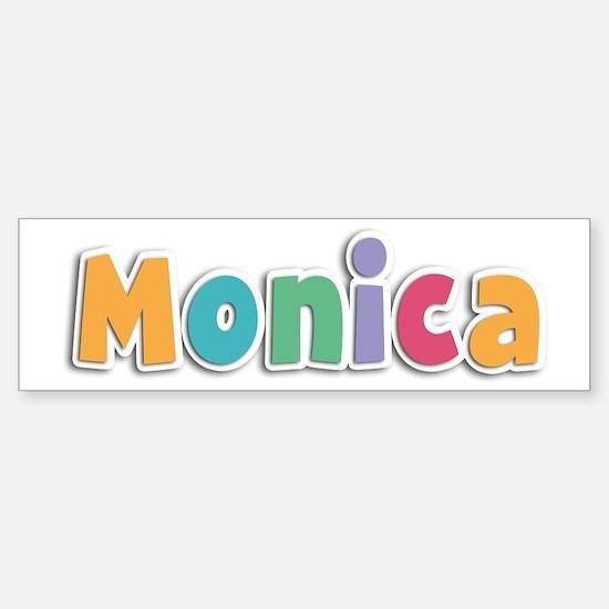 Monica Spring11 Bumper Car Car Sticker