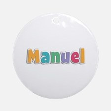 Manuel Spring11 Round Ornament