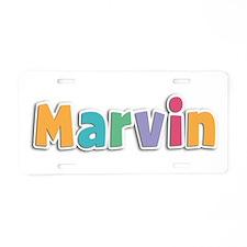 Marvin Spring11 Aluminum License Plate
