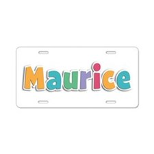 Maurice Spring11 Aluminum License Plate