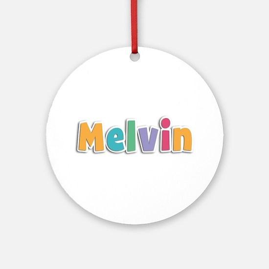 Melvin Spring11 Round Ornament
