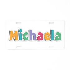 Michaela Spring11 Aluminum License Plate