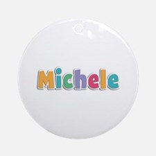 Michele Spring11 Round Ornament