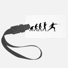 The Evolution Of Fencing Luggage Tag