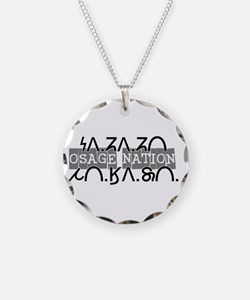 osage nation black.png Necklace