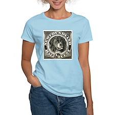 1887 Newfoundland Dog Postage Stamp T-Shirt