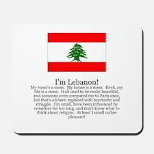 Lebanon Mousepad