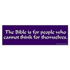 The Bible... bumber sticker