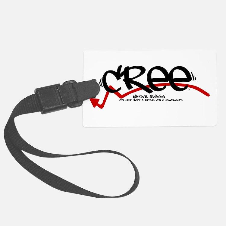 cree black.png Luggage Tag