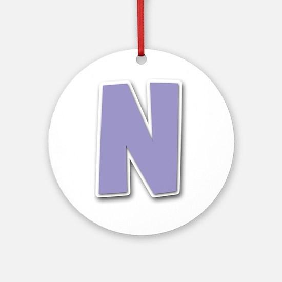 N Spring11 Round Ornament