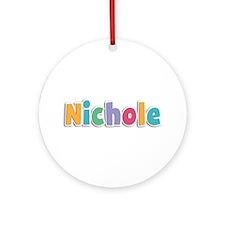 Nichole Spring11 Round Ornament