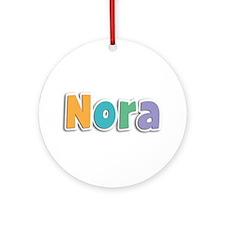 Nora Spring11 Round Ornament