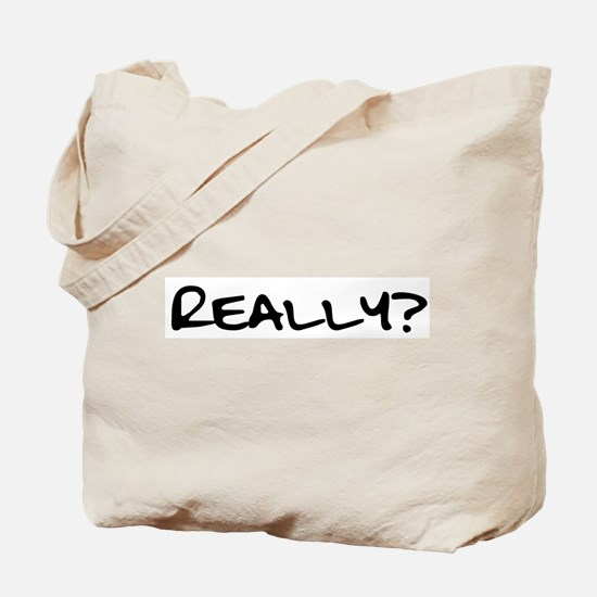 Really for black.png Tote Bag