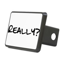Really for black.png Rectangular Hitch Cover