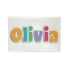 Olivia Spring11 Rectangle Magnet