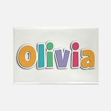 Olivia Spring11 Rectangle Magnet