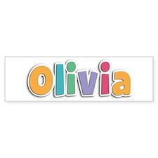 Olivia Spring11 Bumper Bumper Sticker