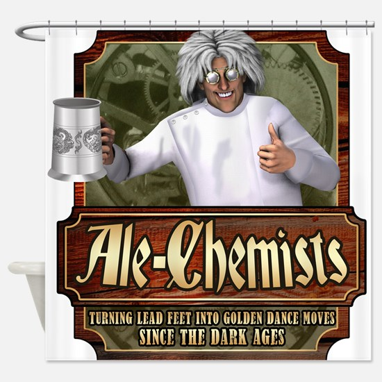 Ale-Chemists Shower Curtain
