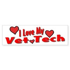 Vet Tech Bumper Bumper Sticker
