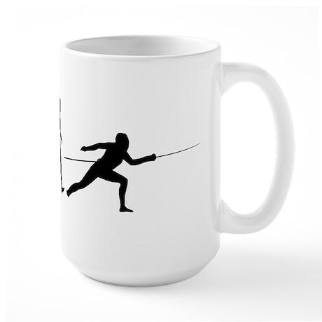 Fencing Large Mug