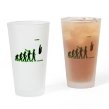 Diving Drinking Glass