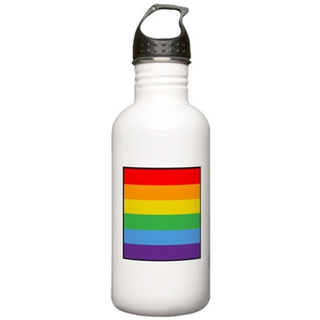 Rainbow Flag Stainless Water Bottle 1.0L