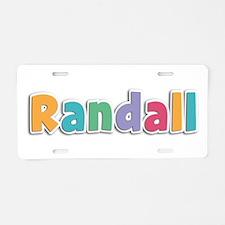 Randall Spring11 Aluminum License Plate