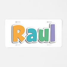 Raul Spring11 Aluminum License Plate