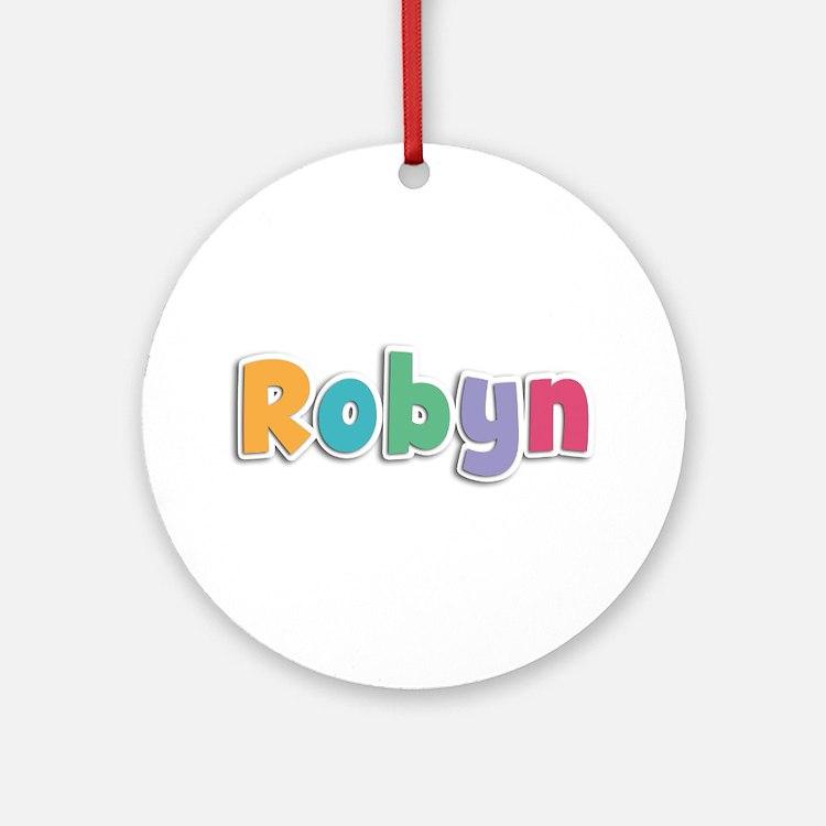 Robyn Spring11 Round Ornament