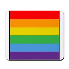 Rainbow Flag Mousepad