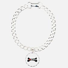 I Love My Pitbull - Dog Bone Bracelet