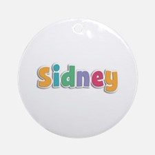 Sidney Spring11 Round Ornament