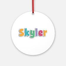 Skyler Spring11 Round Ornament
