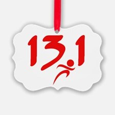 Red 13.1 half-marathon Ornament