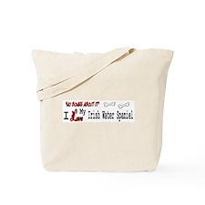 NB_Irish Water Spaniel Tote Bag