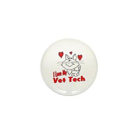 Vet Tech Mini Button (10 pack)